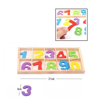 123 Wooden Box