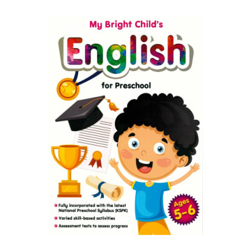My Bright Child's English for Preschool - Year 5 - 6