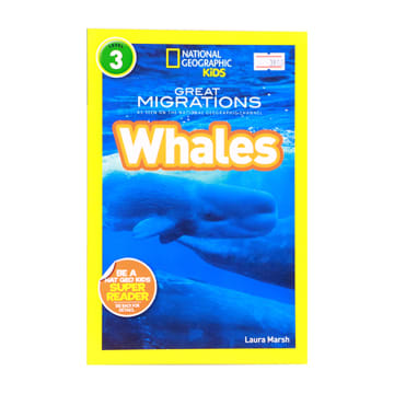 National Geographic Kids Whales Level 3