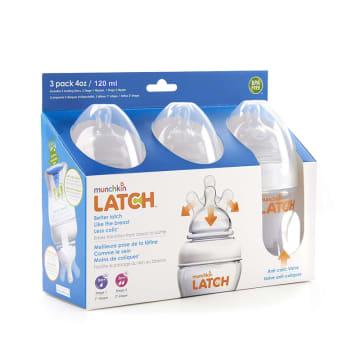 Munchkin LATCH Bottle 3 pack 4OZ/120ml