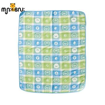 Airflow Soft Cotton Warn Blanket (Blue)