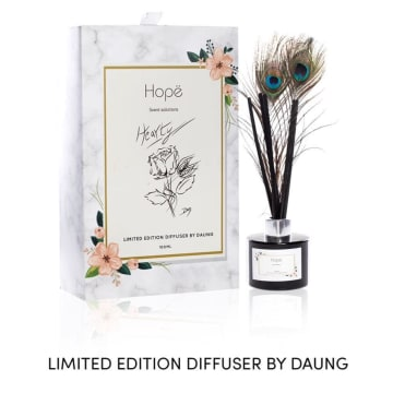 Hope - Limited Edition Reed Diffuser Heart By Daung (100ml)