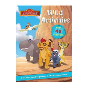 Disney The Lion Guard Wild Activities