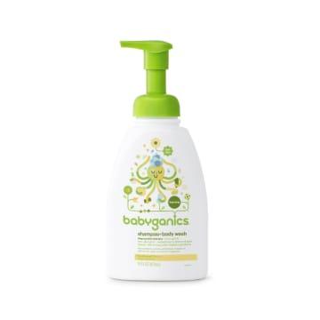 Babyganics Shampoo & Body Wash Fragrance Free (473ml)