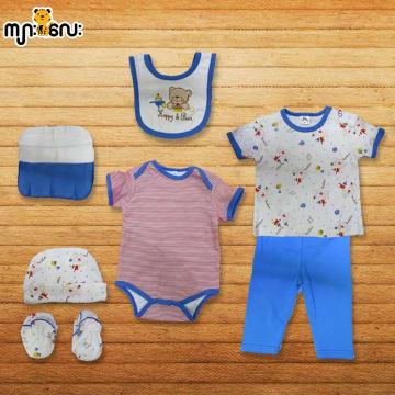 Baby Shalom-8pcs အက်ႌSet-(0-3)Months