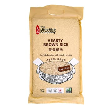 Hearty Brown Rice ဆန်လုံးညို 2kg