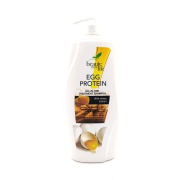 Beaute Life Hair Shampoo-Egg Protein&Honey 1000ml