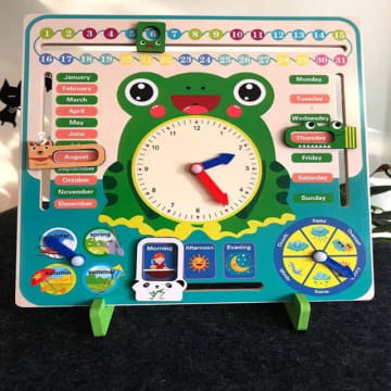 Multifunctional Calendar Clock (3Years+)