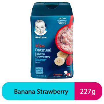 Gerber Oatmeal Banana Strawberry (227g)