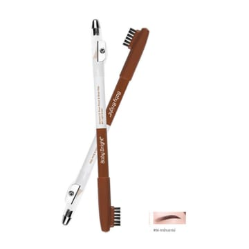 Baby Bright Almond Oil Brow Pencil & Wax - 2g (04 - Dark Brown)