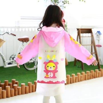 Baby Rain Coat - Pink