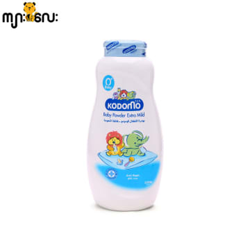 Kodomo-Baby Powder-200g-Blue