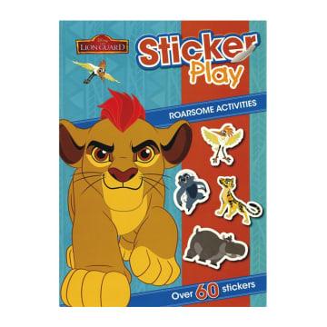 Disney The Lion Guard Sticker Play (Paperback)