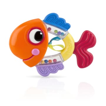 Nuby Playful Teether Rattle Pals