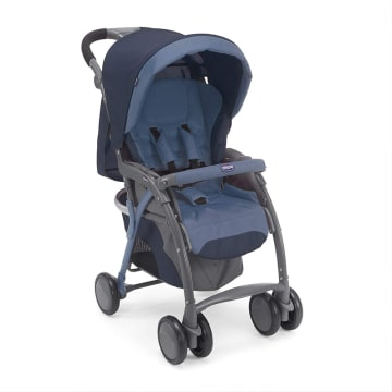Simplicity Plus Stroller India Ink (Blue)