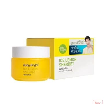 Baby bright Ice Lemon Sherbet White Gel 50g