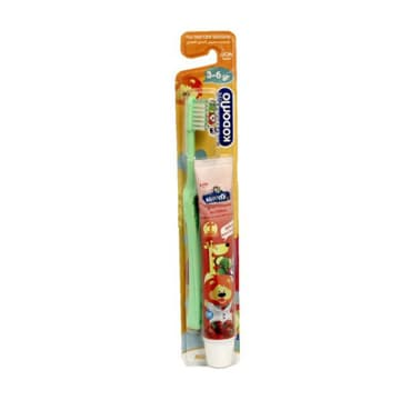 Kodomo-Children Toothbrush-3-6 Years(Free Toothpaste)