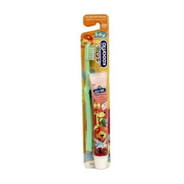 Kodomo-Children Toothbrush-3-6 Years(Free Toothpaste)