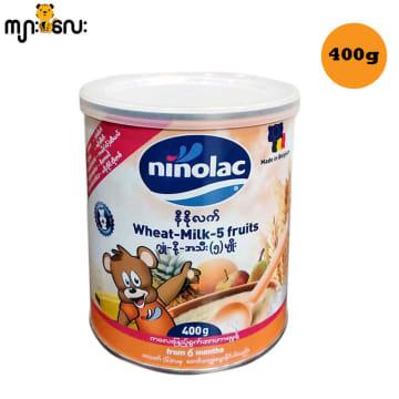 Ninolac-Wheat Milk 5 fruits (Tin) -400g