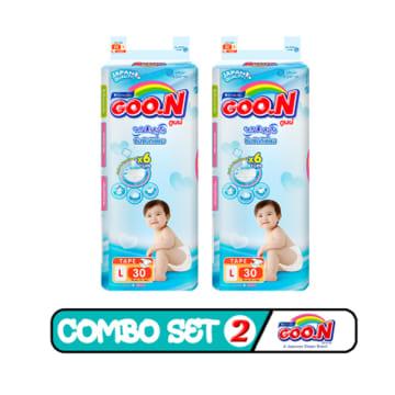 Goo.N Tape - L . 30 Pcs ( Combo Set 2 )
