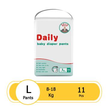 Daily Baby Diaper Pants (L-11 pcs)