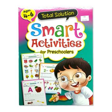 Total Solution Smart Activities For Preschoolers (Ages 4-6)