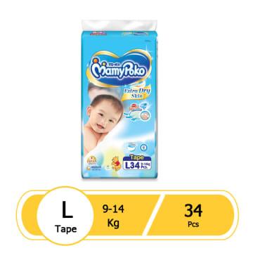 MamyPoko Tape- L34 Pcs