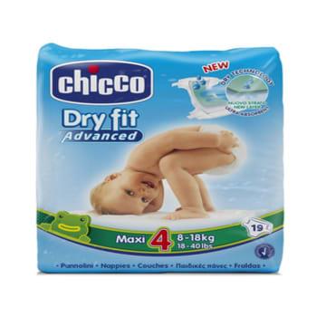 Chicco Baby Diaper - Maxi (19pcs)