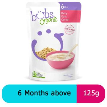 Bubs baby oat ceral (125g)
