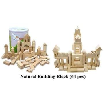 Natural Building Blocks (64pcs)