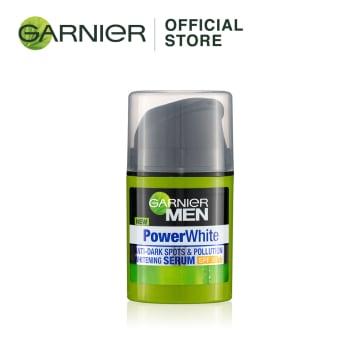 GARNIER MEN Power White  Whitening Serum Cream SPF30 - 40ml