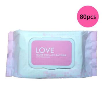 Love Water Wipes (80 pcs)