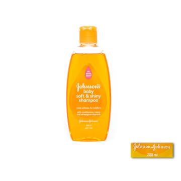 Johnson's baby soft&shiny shampoo 200ml