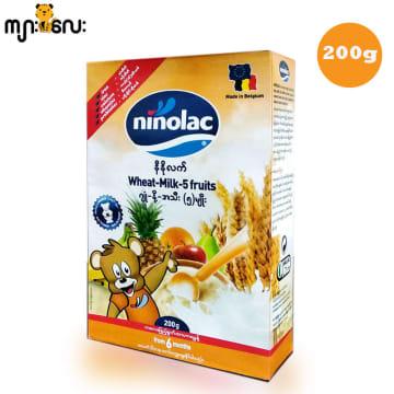 Ninolac-Wheat Milk 5 fruits (Box) -200g