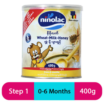 Ninolac-Wheat Milk Honey (Tin) -400g
