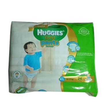 Huggies (Gold Pants) Over Night XL 24 boy