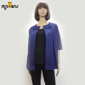 (Small Size ) Cardian Dark Blue Long Sleeves