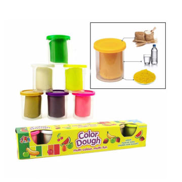 color dough(6pcs)