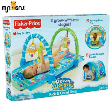 Fisher Price- 3 grow with me stages