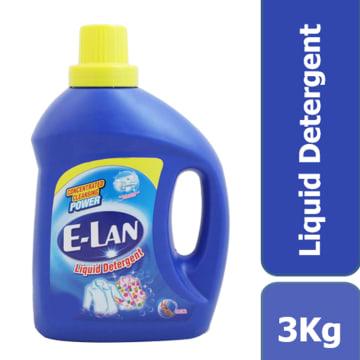 E-LAN Detergent Liquid Regular BTL 3kg 34095442