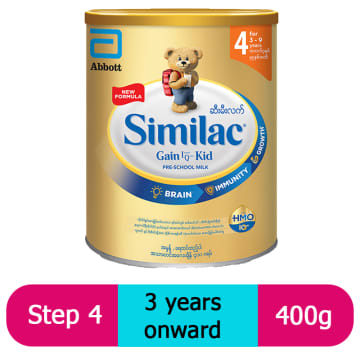 Similac Gain IQ Kid (New Improved) Stage (4) 400g