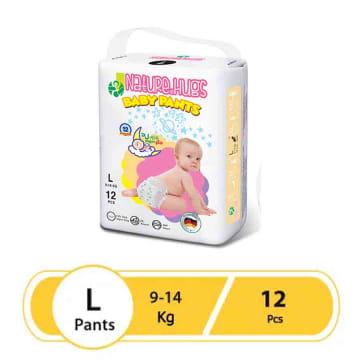 Nature Hugs Diaper Standard  L 12's