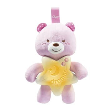 Chicco Toy First Dreams Goodnight Bear Pink