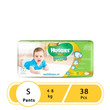 Huggies (Gold Pants) Over Night S 38 boy