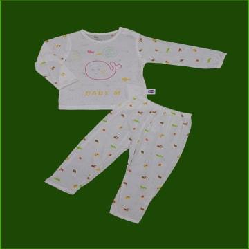 70% Jute Cell, 3% Cotton Short Sleeve & Long Pant Set