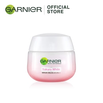 GARNIER Sakura White Pinkish Radiance Serum Cream SPF 21/ PA+++ (50 ml)