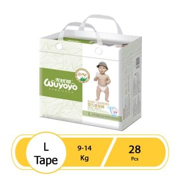 WUYOYO Baby Diaper - L (28 Pcs)