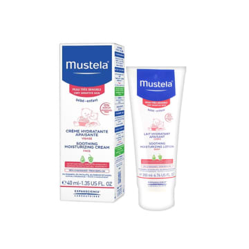 Mustela soothing moisturizing face cream