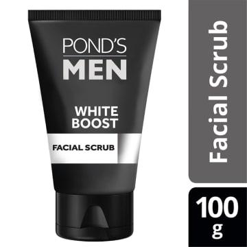 PONDS Men WhiteBoost Facial Scrub100g