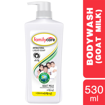 Familycare Bodywash White GoatMilk 530ml